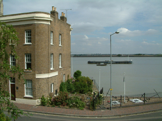 River view from Thames House c 320